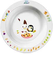 AVENT Large bowl -  With the colorful Avent dishes every meal is fun.