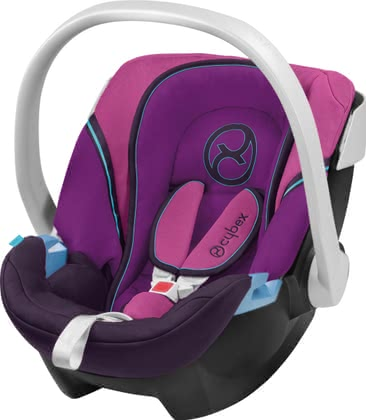 CYBEX Aton Wildlederoptik 2011, Purple Potion-pink - большое изображение