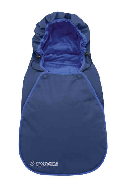 maxi cosi footmuff for baby car seat cabrio 2011 deep blue kidsroom. Black Bedroom Furniture Sets. Home Design Ideas