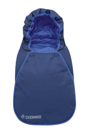 Maxi Cosi footmuff for Baby car seat Cabrio 2011, Deep Blue - large image