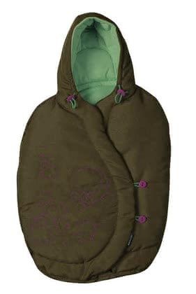 Maxi Cosi footmuff for Baby car seat Pebble 2011, Dark Olive - большое изображение
