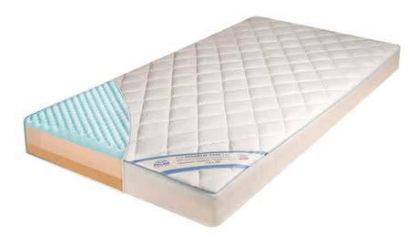 Zöllner Mattress Dr. Lübbe Air Comfort - The Zöllner mattress Dr. Lübbe Air Comfort supports the body of your lttle darling and ensures a healthy sleep