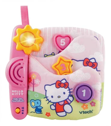 VTech Hello Kitty Cuddle Book - large image