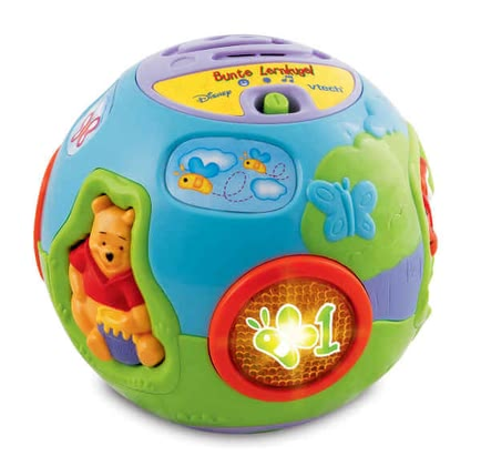 VTech 小熊維尼彩色益智學習球 -  With the VTech Winnie the Pooh Colorful Learning Ball is presented in a playful way, the first numbers, shapes and the cute Winnie the Pooh