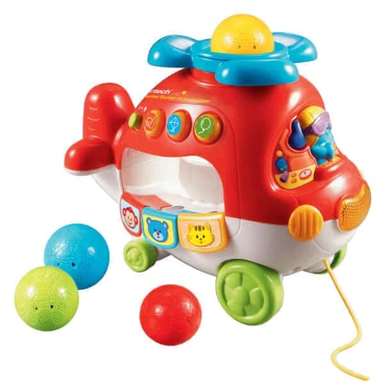 VTech Colorful Sort-Helicopter - large image