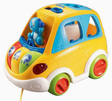 VTech 益智學習汽車 -  With the Vtech 1,2,3 sorting car your treasure can learn playful colors, numbers and shapes