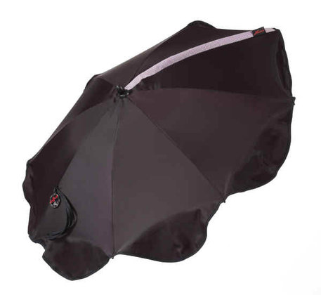 "Hartan Sonnenschirm  ""Click-up"" 2011 - ideal sun shade  parasol underpart can stay at the stroller  UV-Protect 50+  australian standard"