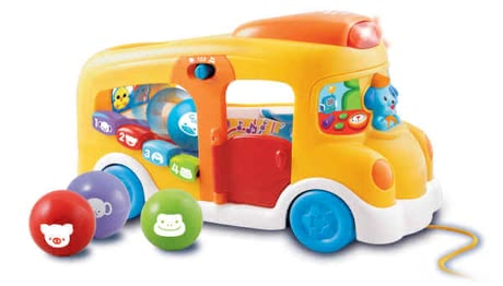VTech Play & Learn Bus -  The VTech play and learning bus guarantees a lot of variety and fun