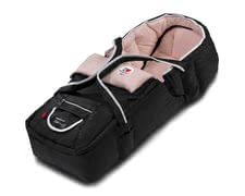 s.Oliver by Hartan Tragetasche Softtasche 2011 - this carrying bag makes your stroller to a complete combi push chair  convertible to a foot muff  retrofit with a warm winter pelt inlay  with belt slits...