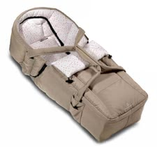 bellybutton by Hartan Tragetasche Softtasche 2011 - this carrying bag makes your stroller to a complete combi push chair  convertible to a foot muff  retrofit with a warm winter pelt inlay  with belt slits...