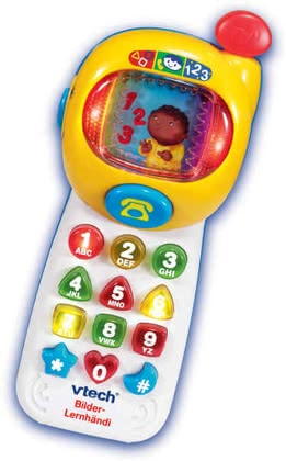 "VTech picture-learning mobile phone ""Bilder-Lernhändi"" 2014 - большое изображение"