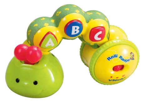 VTech Roll & Sing Caterpillar -  The Vtech toy Rolli Caterpillar will delight your child through many different and funny features.