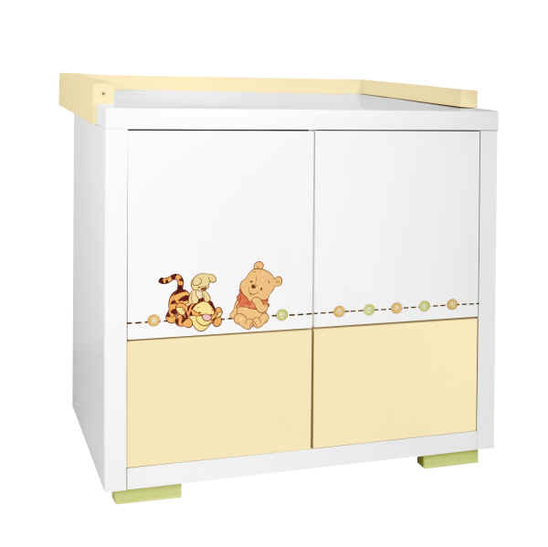 z llner wickelkommode disney stylished pooh online kaufen bei kidsroom. Black Bedroom Furniture Sets. Home Design Ideas
