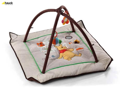 Hauck Activity Center 96x96 cm, Pooh Doodle brown - Großbild
