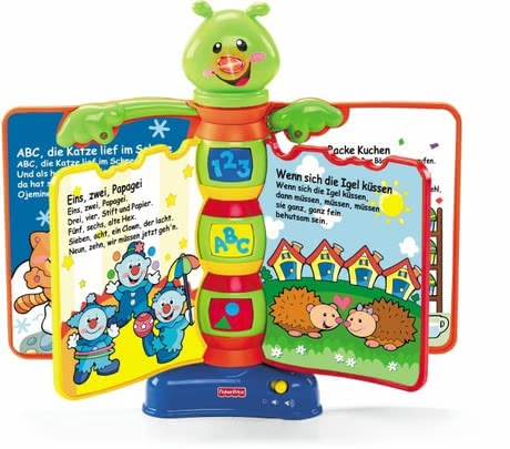 Fisher Price Laugh & Learn song book 2016 - Image de grande taille