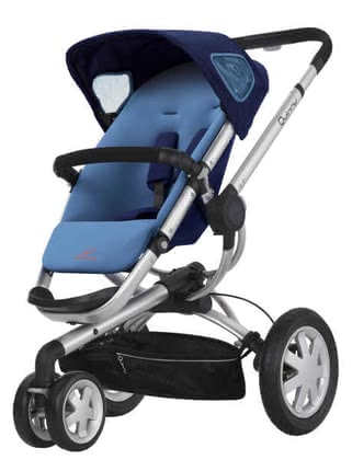 Quinny BUZZ 3 Kinderwagen 2011, Electric Blue - Großbild