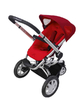 Quinny BUZZ 3 Kinderwagen 2011, Rebel Red - 大图像 2