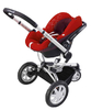 Quinny BUZZ 3 Kinderwagen 2011, Rebel Red - 大图像 4