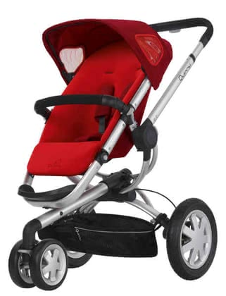 Quinny BUZZ 3 Kinderwagen 2011, Rebel Red - 大图像