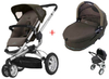 Quinny BUZZ 3 Kinderwagen 2011, Brown Boost + Dreami - большое изображение 1