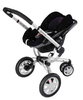 Quinny BUZZ 3 Kinderwagen 2011, Rocking Black + Dreami - Großbild 4