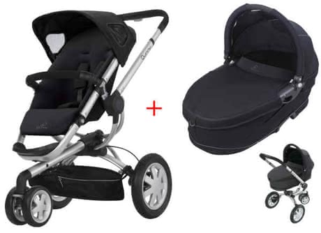 Quinny BUZZ 3 Kinderwagen 2011, Rocking Black + Dreami - Großbild