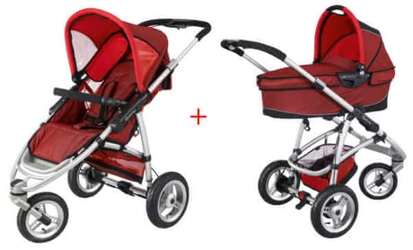 Quinny Speedi SX Kinderwagen 2011, Rose + Dreami - large image