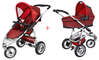 Quinny Speedi SX Kinderwagen 2011, Rose + Dreami - large image 1