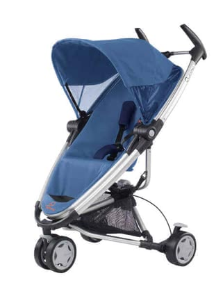 Quinny ZAPP Xtra 2011, Electric Blue - large image
