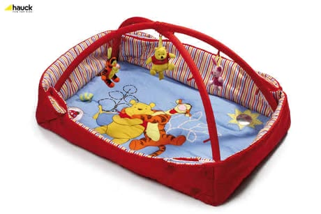 Hauck Activity Center 2 in 1, Pooh lets be Friends red - большое изображение