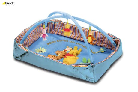 Hauck Activity Center 2 in 1, Best Friends Pooh blue - large image