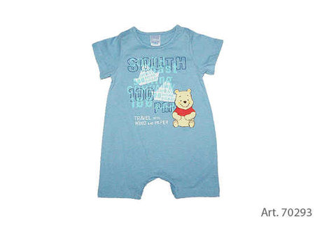 Baby summer rompers - large image