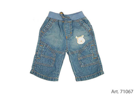Baby 3/4 Jeans - large image