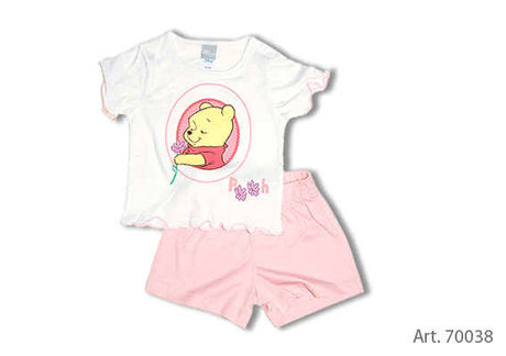 Baby Set, T-Shirt + Pants - large image