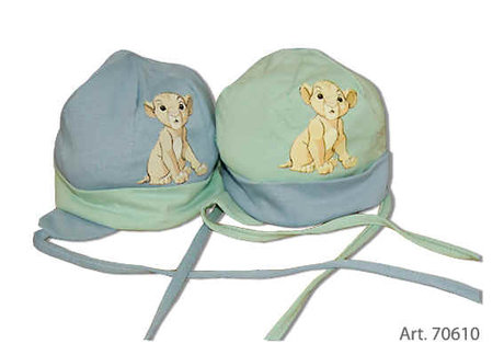 Baby cap binding, Baby Lion King - large image