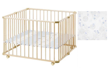 "Geuther playpen Lucy ""beetle"" - 大图像"