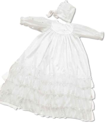 "Leipold christening gown ""Sinfonie"" - large image"