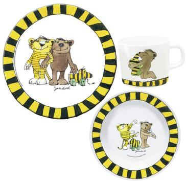 Children's melamine dinnerware set Janosch - большое изображение