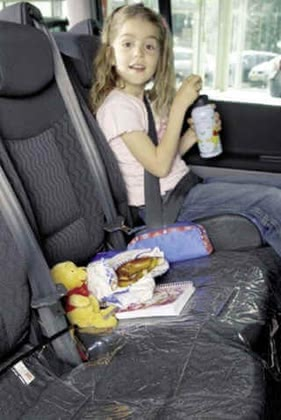 Protective pad for car seats - large image