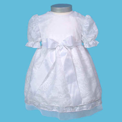 Baby-Staab short dress, white - large image