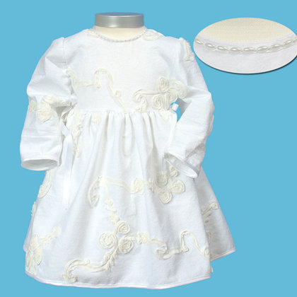Baby-Staab dress, off-white - large image