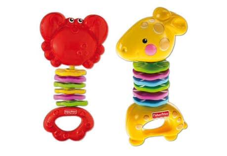 Fisher Price Wonder World rattle - large image