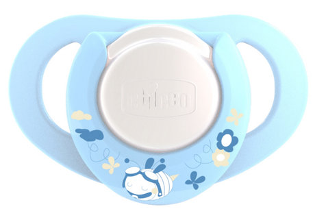 Chicco Physio Soother with Ring, BOY, Silicone 2 PCS 2012 - большое изображение