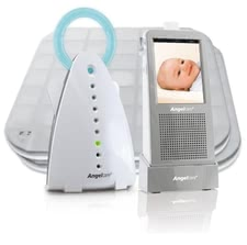 Angelcare noise and presence detector with video surveillance AC 1100-D - With the Angelcare sound and motion detector with video surveillance AC1100 D new parents can be hardly safe, what happens in the bedroom - high tech at ...