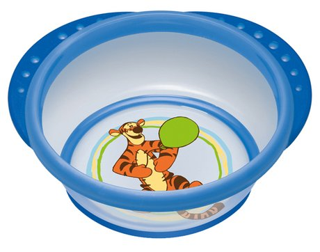 NUK 迪士尼學食碗 - The NUK Disney Easy Learning Learner bowl is perfect for cooking, feeding and keeping fresh!