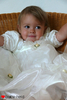 Baby-Held christening dress - large image 2