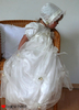 Baby-Held christening dress - large image 3