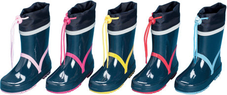 Playshoes wellies, basic - Image de grande taille