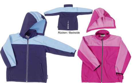 Playshoes softshell jacket, sportive 2014 - large image
