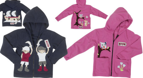 Playshoes Fleece-jacket - large image